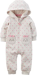 Baby Girls' 1 Piece Footies and Rompers