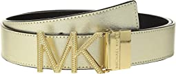 MICHAEL Michael Kors - Reversible Chain Logo Hardware Belt