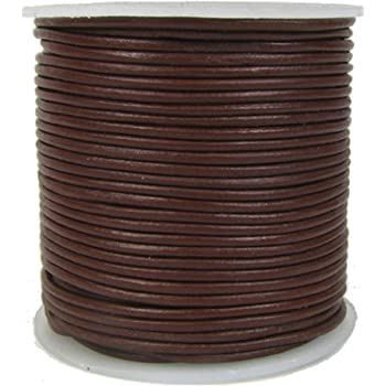 25 Yards Darice 1Mm Imitation Leather Cord Black