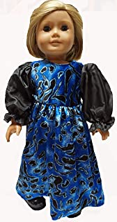 Doll Clothes Superstore 18 Inch Girl Doll Colonial Dress with Cape Fits American Girl Dolls