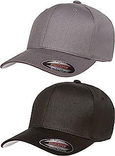 Flexfit Adult's 5001 2-Pack Premium Original Twill Fitted Hat