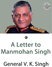 A Letter to Manmohan Singh