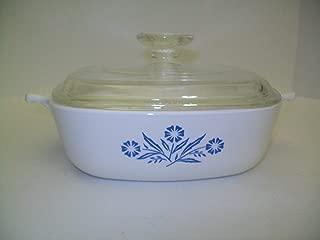 Vintage Corning Ware - Cornflower / Corn Flower - 1 Quart Casserole w/ Lid P-1-B