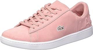 Lacoste Carnaby Evo, Women's Fashion Slip On Sneakers, Pink, 42 EU