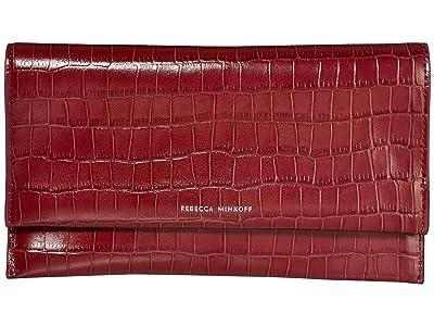 Rebecca Minkoff Wallet Clutch (Pinot Noir) Handbags