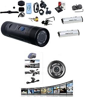 Tree-on-Life Supporto del Supporto Fisso per Moto in Lega di Alluminio con Adattatore per treppiede e Vite per Accessori per videocamera Sportiva GoPro