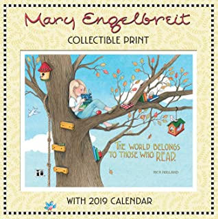 Mary Engelbreit Collectible Print with 2019 Wall Calendar