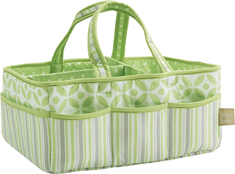 Trend Lab Lauren Storage Caddy Green