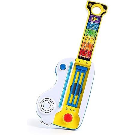 Baby Einstein, Flip & Riff Keytar Guitare & Piano 2-en-1, jouet sons et lumières, 12+ mois