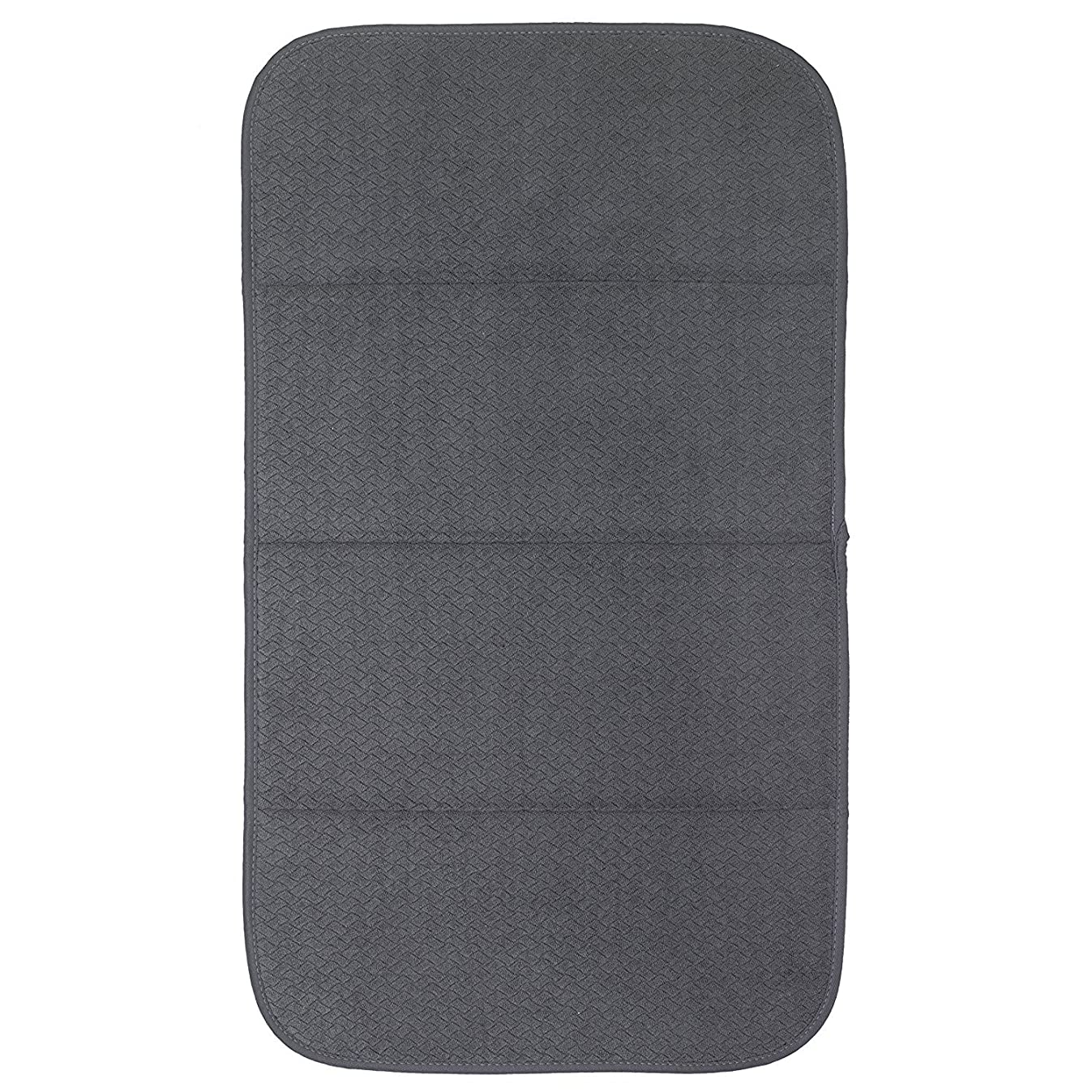 All Clad Textiles Reversible Fast-Drying Mat, 16-Inch x 28-Inch, Pewter