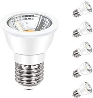 ANC PAR16 LED Bulb Dimmable Spotlight Bulb 7W Energy Star LED Bulbs(60W Halogen Bulbs Equivalent),500 Lumens 3000K Warm White 60° Beam Angle Spot Bulbs 5 Pack