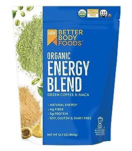 BetterBody Foods Organic Energy Blend, 12.7 Ounces