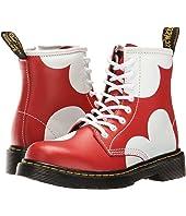 Dr. Martens Kid's Collection - Delaney HRT Lace Boot (Little Kid/Big Kid)