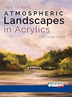 How to Paint Atmospheric Landscapes in Acrylics with Fraser Scarfe
