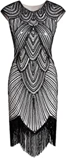 Best white beaded flapper dress Reviews