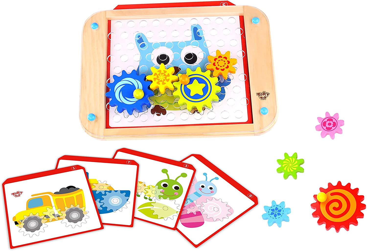Fat Brain Toys Go Gears Puzzles to 4 Ages Free shipping on posting reviews Max 61% OFF for 3