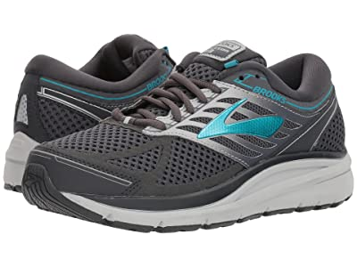 Brooks Addiction 13 (Ebony/Silver/Pagoda Blue) Women