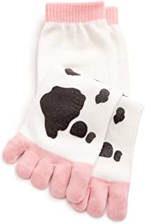 Best cow toe socks Reviews