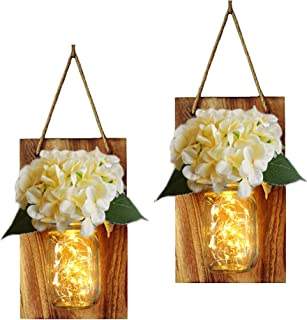 Best hanging mason jars with flowers Reviews