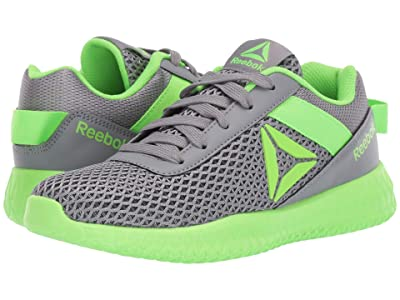 Reebok Kids Flexagon Energy (Little Kid/Big Kid) (Grey/Solar Green) Boys Shoes