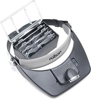 Rolson Tools 60390 LED-huvudförstoringsglas