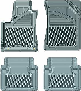 Koolatron Pants Saver Custom Fit 4 Piece All Weather Car Mat for Select Toyota Tundra Models (Grey)
