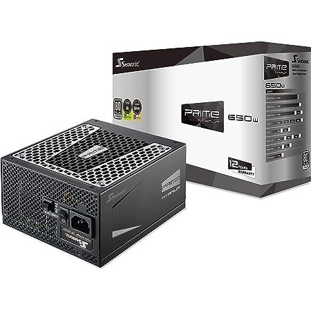 Seasonic Prime 650w Ultra 80 Plus Titanium Full Modular Computer Zubehör