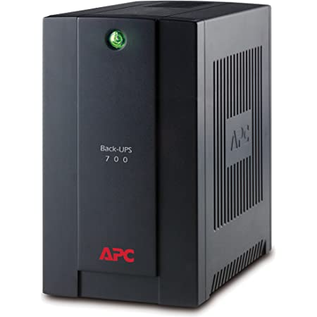 "APC BX700U-GR Back-UPS BX - Sistema de alimentación ininterrumpida SAI 700VA (4 tomas ""Schuko"", AVR, USB, software de apagado)"