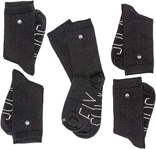 SOCKFIX, Pack de 5 pares de calcetines de algodón con sistema patentado anti pérdida