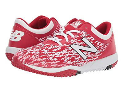 New Balance 4040v5 Turf (Red/White) Men