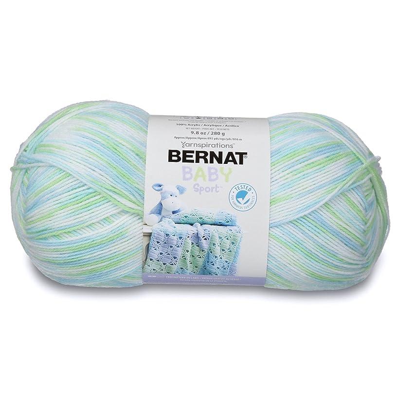 Bernat Baby Sport Big Ball Ombre Yarn, 9.8 oz, Gauge 3 Light, 100% Acrylic, Funny Prints