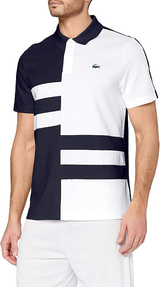 Lacoste polo,maglietta per uomo maniche corte,100% cotone YH2058