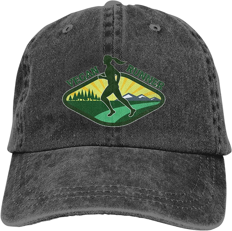 NC Vegan Runner1 Trucks Cotton Hat Cowboy Hat Baseball Caps Black