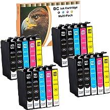 D&C 20er Set Cartuchos de Tinta Cartuchos de impresora (No Original) para Epson Expression Home XP de 102,202,205,212,215,225,30,302,305,312,313,315,322,325,33,402,405,405 WH,412,413,415,422,425