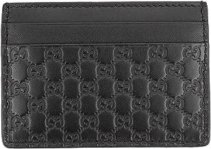 Gucci Microguccissima Signature Leather Card Case Wallet, Dark Brown 262837