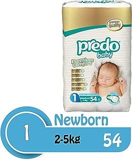 Predo Baby Newborn Advantage Pack Diapers (2-5 Kg, 54 Piece)