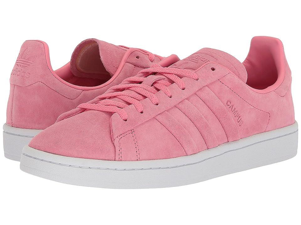 adidas Originals Campus Stitch Turn (Chalk Pink/Chalk Pink/Gold Metallic) Women