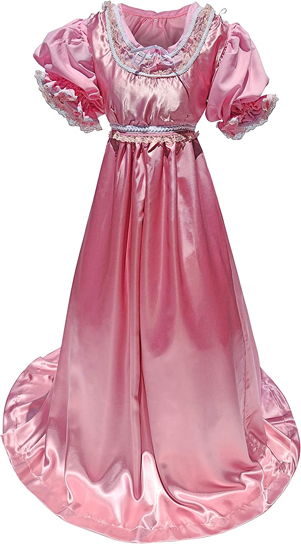 1900s, 1910s, WW1, Titanic Costumes 2 Pc Teal Ball Gown Women Costume Regency Jane Austen Style Large Cosplay Dress Regular Plus Size  AT vintagedancer.com