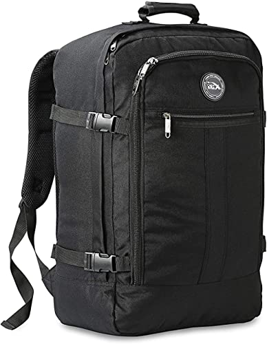 Cabin Max® Metz Backpack Flight Approved Carry On Luggage Bag Massive 44 Litre Travel Hand Luggage 56x36x23 - Perfect...