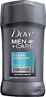Dove Men+Care Antiperspirant Deodorant Stick Clean Comfort 2.7 Ounce (Value Pack of 6)