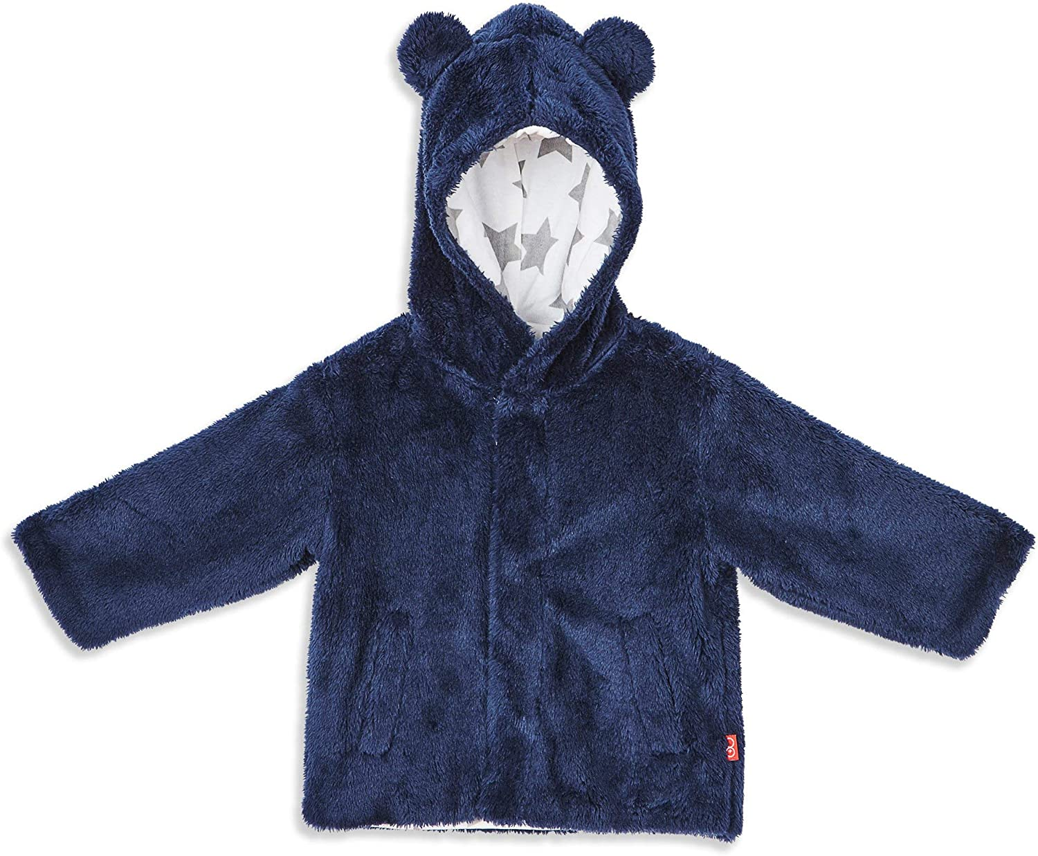 Magnificent Baby Magnetic Me Baby Bear Fleece Magnetic Hooded Jacket