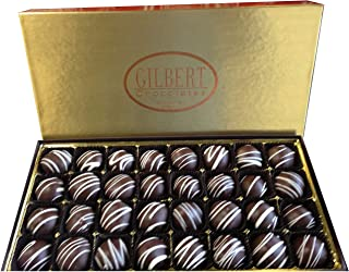 Gilbert Chocolates Dark Cherry Cordials - 18 ounces of liquid cherry center goodness