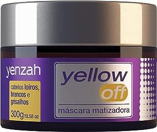 Máscara Matizadora Yellow Off, Yenzah, Roxo