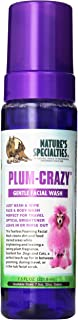 Nature's Specialties Plum-Crazy Foaming Facial Wash for Pets, 7.5-Ounce