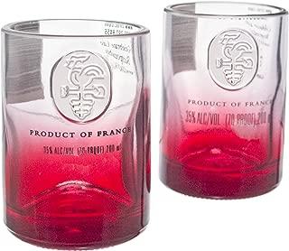 Ciroc Red Berry Vodka Reclaimed Bottles Glassware Barware Drinkware Shot Glass Gift Set