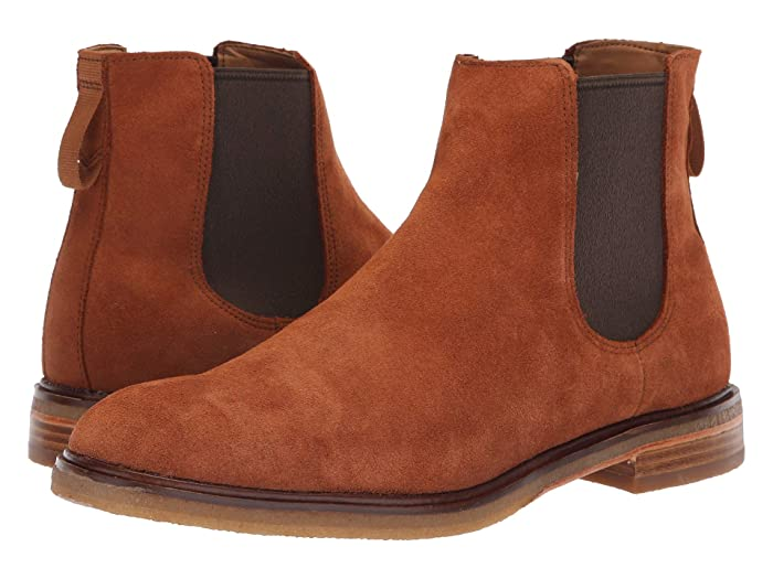 Clarks  Clarkdale Gobi (Dark Tan Suede) Mens Pull-on Boots