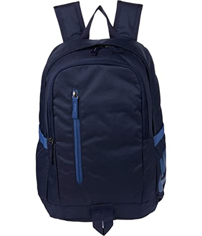 Nike All Access Soleday Backpack 2 (Obsidian/Obsidian/Mystic Navy) Backpack Bags