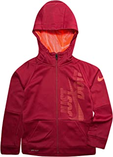 Nike Little Boys` Dri-Fit Therma Legacy Just Do It Zip Hoodie