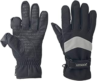 IUSTAOCN Waterproof Fishing Gloves for Men and Women,Fly...