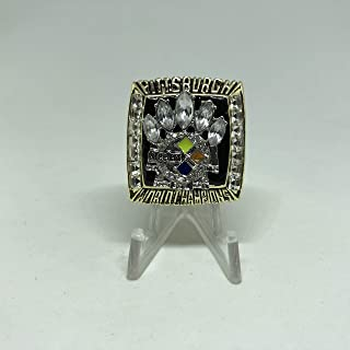 2005 Hines Ward Pittsburgh Steelers High Quality Replica 2005 Super Bowl XL Ring Size 12-Gold US SHIPPING